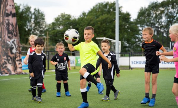 Voetbal voor de allerkleinsten
