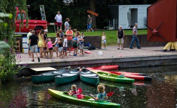 Samenwerking gemeente met Openluchttheater Eibergen bij organisatie Berkelfestival